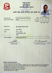 Trek Around Nepal Tax Registration
